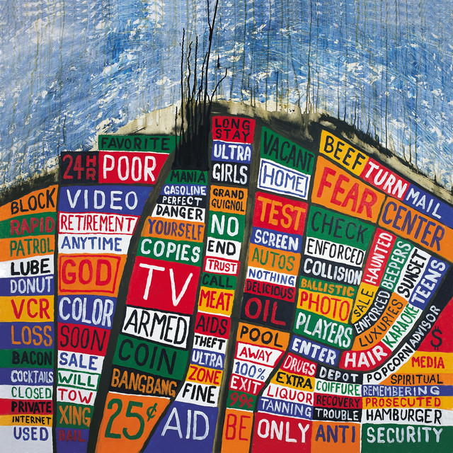 Album cover for Hail To The Thief by Radiohead