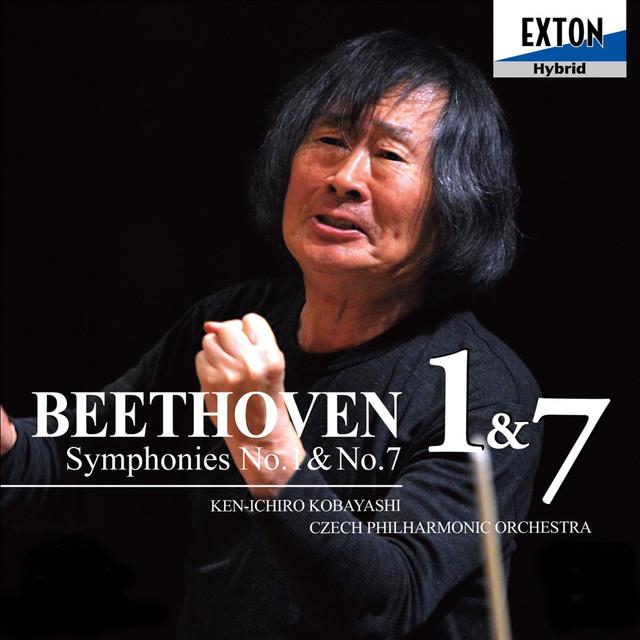 Beethoven: Symphony No. 1 & No. 7 Albumcover
