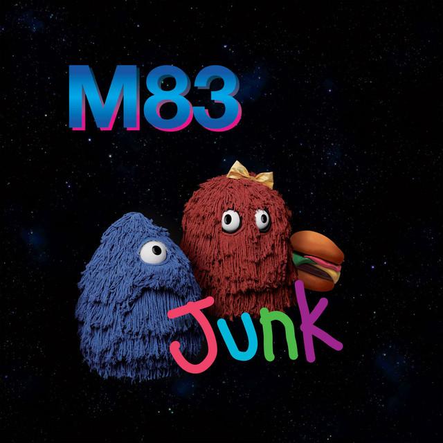 Skivomslag för M83: Junk
