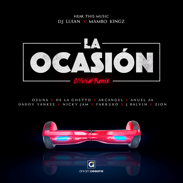 La Ocasión (Remix) by DJ Luian on Spotify