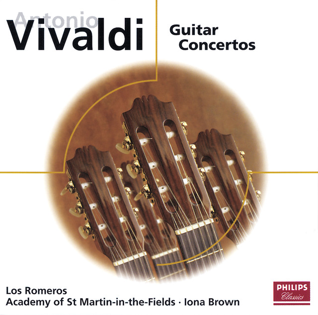Vivaldi: Guitar Concertos Albumcover