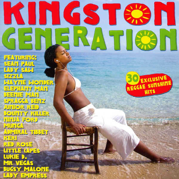 Various Artists Kingston Generation (30 Reggae Sunshine Hits) album cover