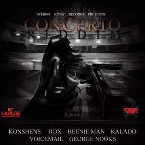 Concerto Riddim Albumcover