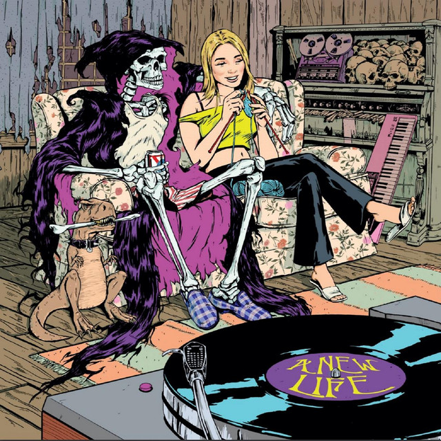 Album cover for A New Life by Azizi Gibson