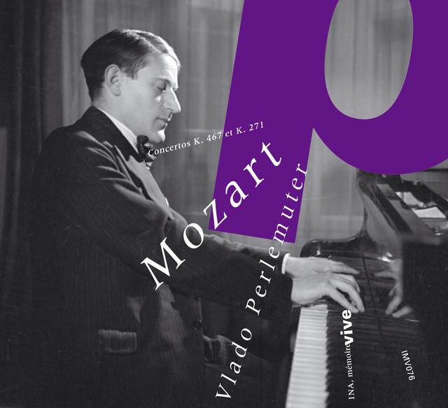 Concertos pour piano Albumcover