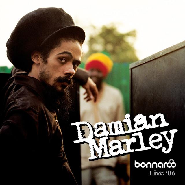 Damian Marley Bonnaroo Live '06 album cover