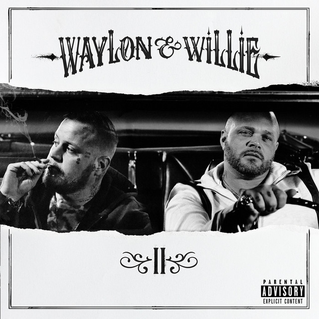 Album cover for Waylon & Willie 2 by Jelly Roll, Struggle Jennings