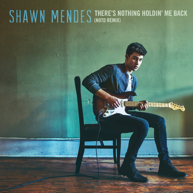 Shawn Mendes, NOTD There's Nothing Holdin' Me Back (NOTD Remix) album cover