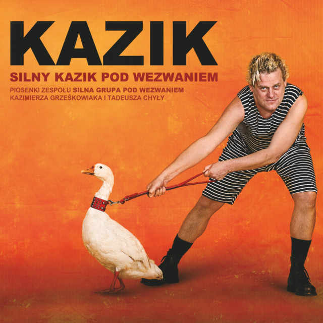 Album cover for Silny Kazik pod wezwaniem by Kazik