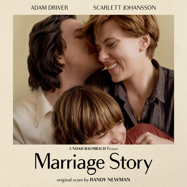 Album cover for Marriage Story (Original Music from the Netflix Film) by Randy Newman