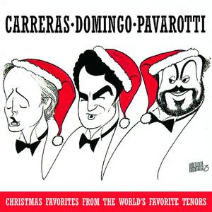 Irving Berlin, José Carreras, Plácido Domingo, Luciano Pavarotti, Steven Mercurio White Christmas cover
