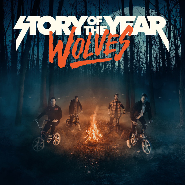 Album cover for Wolves by Story Of The Year