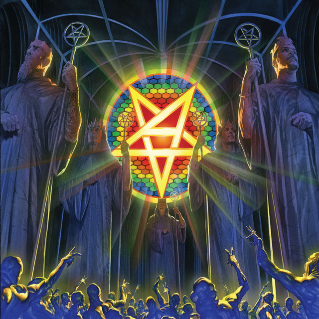 Album cover for For All Kings by Anthrax