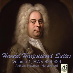 Handel Harpsichord Suites, Vol. 1 HWV 426-429 Albümü
