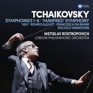 Tchaikovsky: Symphonies Nos 1-6, Manfred Symphony, Overtures & Rococo Variations Albümü