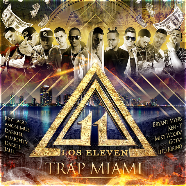 Album cover for Wise The Gold Pen Presents: Trap Miami