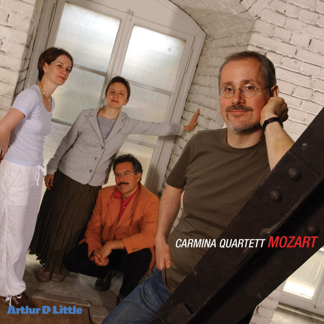 Mozart: String Quartets K.387, K.421 & K.465 Albumcover