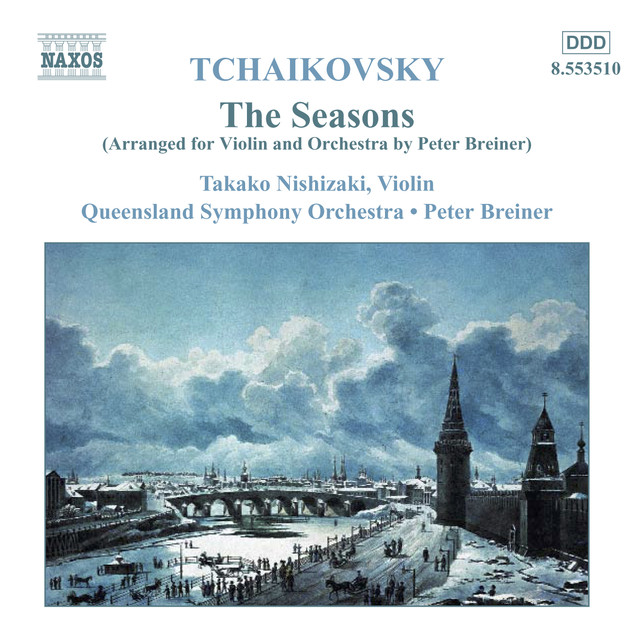 TCHAIKOVSKY: Seasons (The) (arr. for violin and orchestra) Albumcover