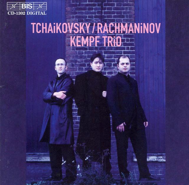 Tchaikovsky/ Rachmaninov: Piano Trios Albumcover