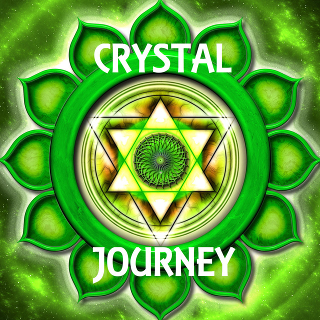 Crystal Journey – Ultimate Spa Music with Rain Sounds, Sounds of Nature and Natural White Noise Albumcover