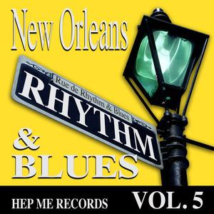 New Orleans Rhythm & Blues - Hep Me Records Vol. 5 Albumcover