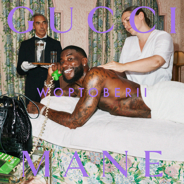 Album cover for Woptober II by Gucci Mane