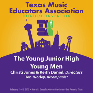 2015 Texas Music Educators Association (TMEA): The Young Junior High Young Men  - (empty)