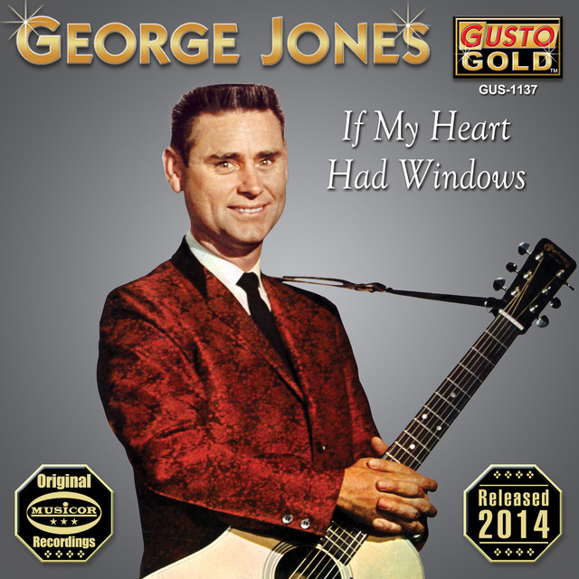 George Jones If My Heart Had Windows album cover