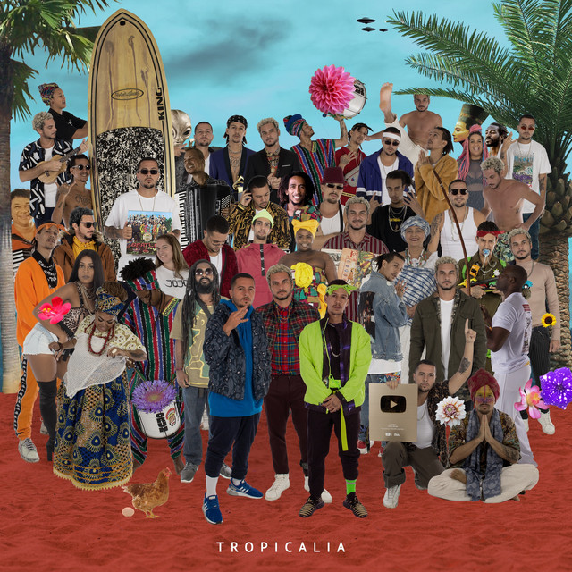 Album cover for TROPICALIA by 3030
