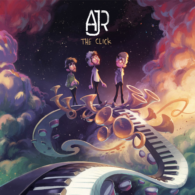 Album cover for The Click by AJR