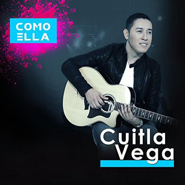 Album cover for Como Ella by Cuitla Vega