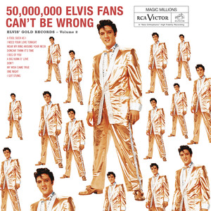 50,000,000 Elvis Fans Can't Be Wrong: Elvis' Gold Records, Vol. 2 Albumcover