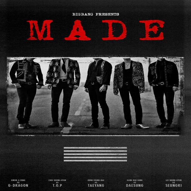 Album cover for M.A.D.E by BIGBANG