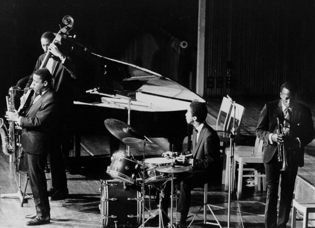 Miles Davis Quintet, Barney Wilen A Night in Tunisia cover