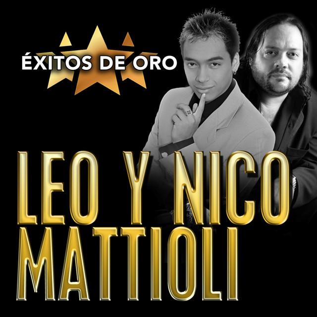 Album cover for Éxitos de Oro by Leo Mattioli, Nico Mattioli