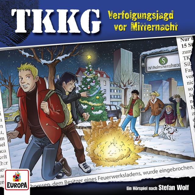 Album cover for 199/Verfolgungsjagd vor Mitternacht by TKKG