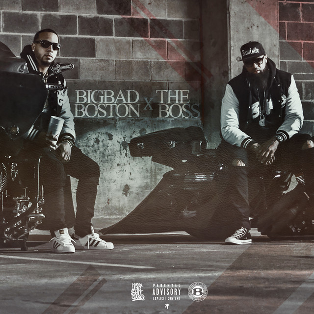 Album cover for Big Bad Boston and The Boss by Boston George, Slim Thug
