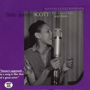 Jimmy Scott Anytime, Any Day, Anywhere cover