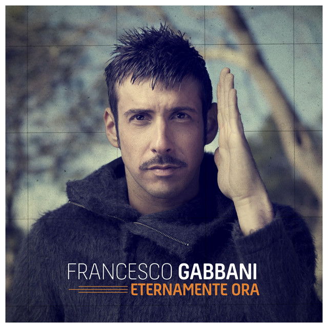 Album cover for Eternamente ora by Francesco Gabbani