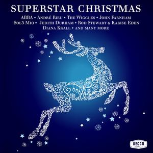 Rod Stewart, Karise Eden, Troy Red-Suited Super Man cover