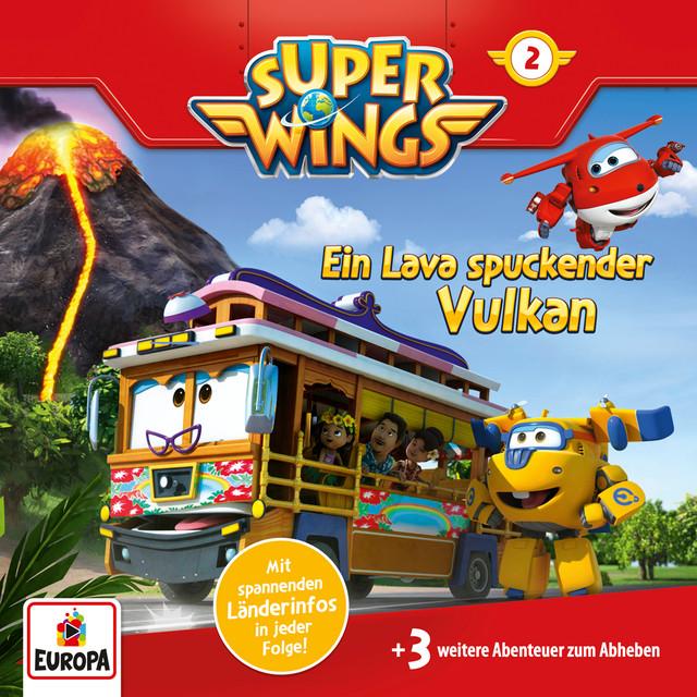 002 - Ein Lava spuckender Vulkan Cover