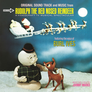 Burl Ives, Vidocraft Orchestra Overture And A Holly Jolly Christmas cover