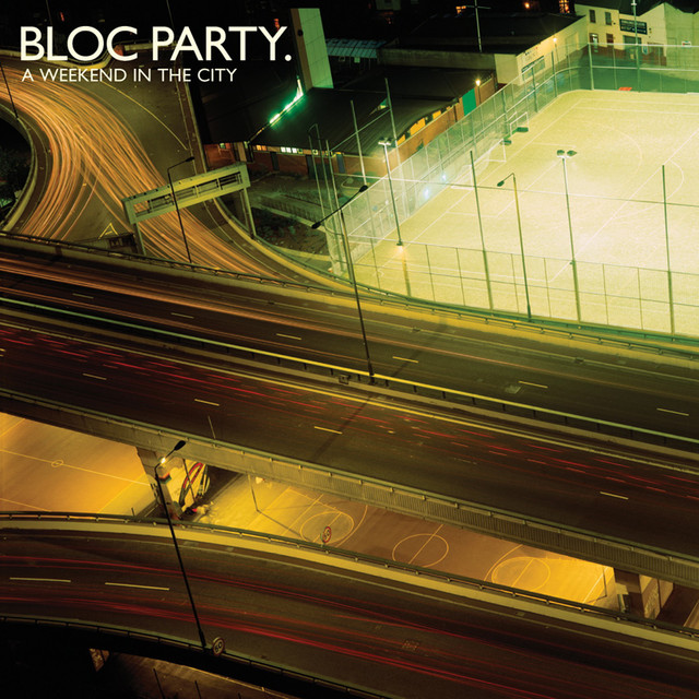 Album cover for A Weekend in the City by Bloc Party