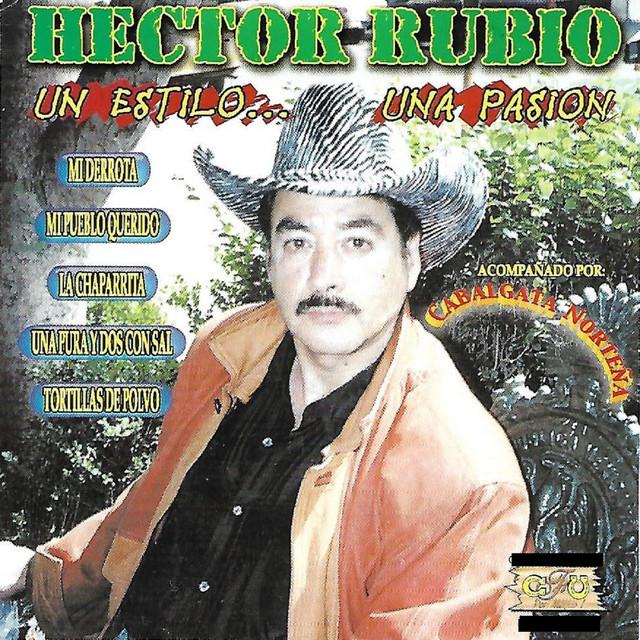 Album cover for Un Estilo Una Pasion by Hector Rubio