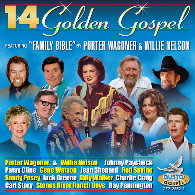 Various Artists 14 Golden Gospel album cover