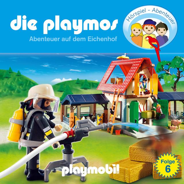 Folge 6: Abenteuer auf dem Eichenhof (Das Original Playmobil Hörspiel) Cover