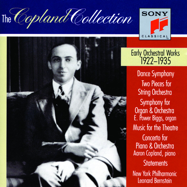 The Copland Collection: Early Orchestral Works (CD #1: 1923 - 1928 & CD #2: 1929 - 1935) Albumcover