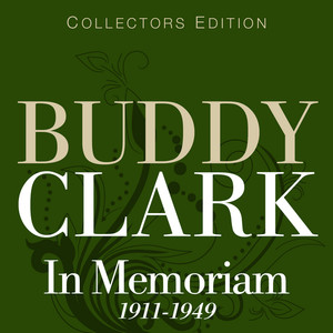 Buddy Clark Stars Fell On Alabama cover