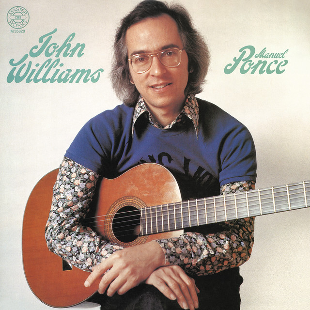 John Williams Plays Ponce Albumcover