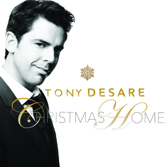 Album cover for Christmas Home by Tony DeSare